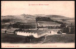 La Croix Aux Mines - L'Usine - Peignage Et Filature De Bourre De Soie - Edit. AD WEICK - France