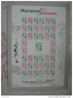 FRANCE 2013 F4774A * * MARIANNE DE LA JEUNESSE FEUILLET COMPLET - Sheetlets