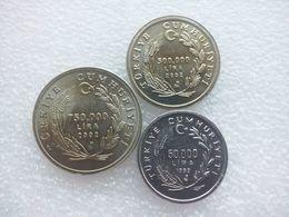 Turkey  50.000 - 750.000 Lira - Turquie
