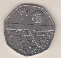 2011 50p - - 50 Pence