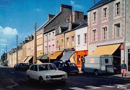 La HAYE-du-PUITS - Rue Emile-Poirier - Automobiles 2CV - Fourgon Tube Citroën - France