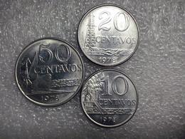 Brazil   10 - 50 Centavos  1978 - Brésil