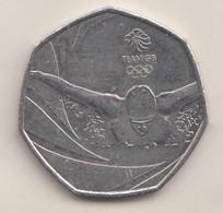 2016 50p - - 50 Pence