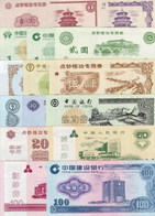 China 15 Banknotes For Training Cashiers UNC - Chine