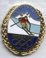 Pin's Ski Sports D'hiver Innsbruck Autriche Jeux Olympiques D'hiver JO - Sport Invernali