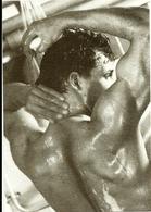 BLUES BOYS 1985  James MARDLE Select Men  PC12  Photo Neil Mackenzie Matthews Sous La Douche, Verso Coupé Au Scan Uniqu) - Photographie