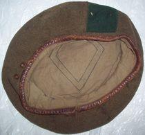 Antique Army Khaki Beret - Headpieces, Headdresses