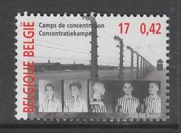 TIMBRE NEUF DE BELGIQUE - LES CAMPS DE CONCENTRATION N° Y&T 2941 - Guerre Mondiale (Seconde)