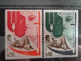 MONACO 1972 Y&T N° 903 & 904 ** - LUTTE CONTRE LA DROGUE - Nuevos