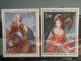 MONACO 1972 Y&T N° 914 & 915 ** - PRINCE ET PRINCESSE DE MONACO - Monaco