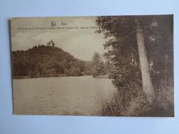 Spa - Partie Du Lac De Warfaaz Et Château Heid Du Pouhon à M. Jean De Crawhez - Spa