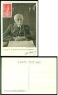 France 1941 Carte Postale Pétain Avec Mi 504 - Covers & Documents