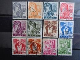 SARRE 1947 Y&T N° 196 à 215 OB ( PLUS DE 80 EUROS DE COTE ) - 1947-56 Ocupación Aliada