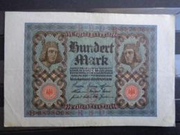 1920 - TRES BEAU BILLET DE 100 MARK - - [ 3] 1918-1933 : Weimar Republic