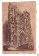 80 AMIENS   Cathedrale Gravure - Amiens