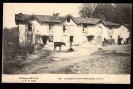 51 LA HARAZEE - Le Château De La Harazée (Marne) - Otros Municipios