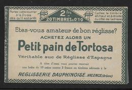 France - Carnet Pasteur N° 170 C1  ** - Cote : 70 € - Carnets