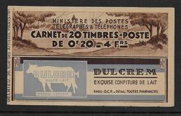 France - Carnet Semeuse N° 190 C1  ** - Cote : 60 € - Carnets