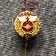 Badge (Pin) ZN007858 - Automobile (Car) Yugoslavia Serbia Valjevo Drivers Association - Badges
