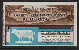 France - Carnet Semeuse N° 360 C1  ** - Cote : 47 € - Carnets