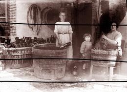 BISSEUIL VIGNERONS BOUTEILLES   ANNEES 1900 TIRAGE MODERNE D APRES PLAQUE ANCIENNE - France