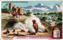 1077   Liebig 6 Cards Duits Vanished Civilizations-Bilder Aus Versunkenen Königreichen-Inca Peru-Granada-Egypt-mexico- - Liebig