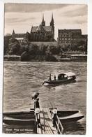 BASEL Boot Am Steg Stempel Freilicht Festspiel Rosenfeldpark 1953 - BS Bâle-Ville