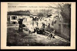 51 LA HARAZEE - Lavoir Improvisé - Autres Communes