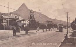 MAIN ROAD, SEA POINT, CP. JV. VALENTINE & SONS PUB CO. CIRCA 1930s - BLEUP - Cap Vert