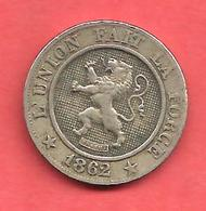 "10 Centimes , BELGIQUE , Cupro-Nickel , 1862 , "" ROI DES BELGES "" , N° KM # 22 - 1865-1909: Leopold II"