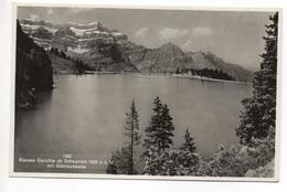 SCHWANDEN Stausee Garichte Gel. 1934 V. Ziegelbrücke N. Bönigen - GL Glaris