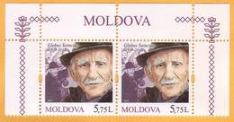 2019 Moldova Moldavie  Glebus Sainciuc - Artist, Actor, Film, Visual Arts  2v - Cinema