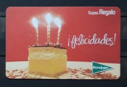 ESPAÑA TARJETA REGALO EL CORTE INGLÉS FELICIDADES. - Gift Cards
