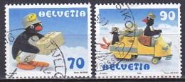 Switzerland/1999 - Pingu - Set - USED - Gebraucht