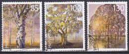 Switzerland/2009 - Ancient Trees/Alte Bäume/Arbres D'âge Vénérable - Set - USED - Schweiz