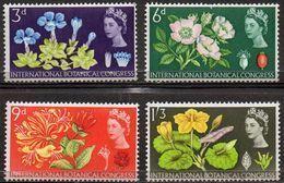 GREAT BRITAIN 1964 Tenth International Botanical Congress (ordinary) - 1952-.... (Elizabeth II)