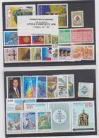 ANDORRE FRANCAIS Années Complètes 1996 - 1997 - 30 T Neufs Xx N° YT 467 à 496 - Andorra Francesa