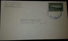 O) 1931 CIRCA - HONDURAS, VIEW OF PALACE AT TEGUCIGALPA, FRM SAN PEDRO SULA TO USA - Honduras
