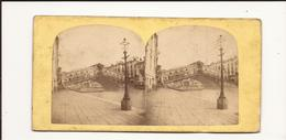 Carte Stéréoscopique Italie Venise Le Rialto - Stereoscope Cards