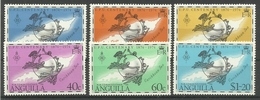 ANGUILLA 1974 UPU CENTENARY SET MNH - Anguilla (1968-...)