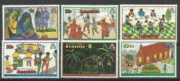 ANGUILLA  1978  CHRISTMAS   SET MNH - Anguilla (1968-...)