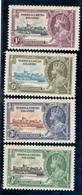 TURKS&CAICOS1935:Michel111-4(Scott71-4)mnh** - Turks & Caicos (I. Turques Et Caïques)