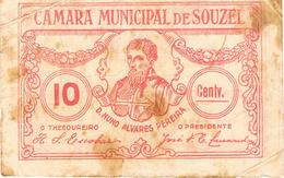 CÉDULA DA CÂMARA MUNICIPAL DE SOUZEL 10 CENTAVOS - Portugal