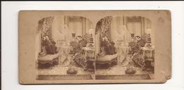 Carte Stéréoscopique Fantôme Hommes - Stereoscope Cards