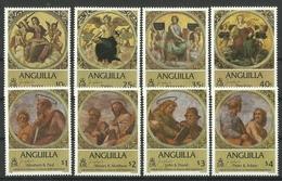 ANGUILLA 1984  EASTER SET MNH - Anguilla (1968-...)