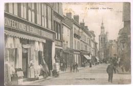 BERNAY . Rue Thiers . Confections A . Esnault . Trousseaux . - Bernay