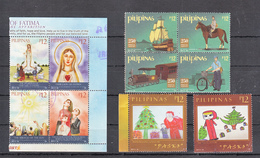 Filippine Philippines Philippinen Filipinas 2017 Fatima, Postal Service, Etc.. 10 Stamps - USED - Filippine