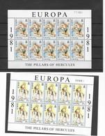 GIBRALTAR Nº 418 AL 419 - Europa-CEPT
