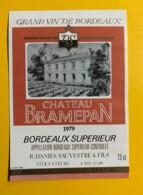 9712 - Château Bramepan 1979 - Bordeaux