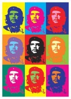 Che Guevara (Pop Art) Special Postcard - Size: 15x 10 Cm. - Personajes Históricos